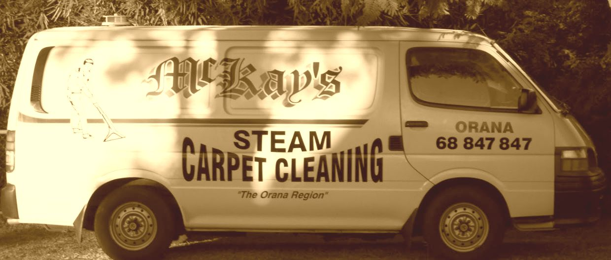 Dubbo Carpet Cleaning Van